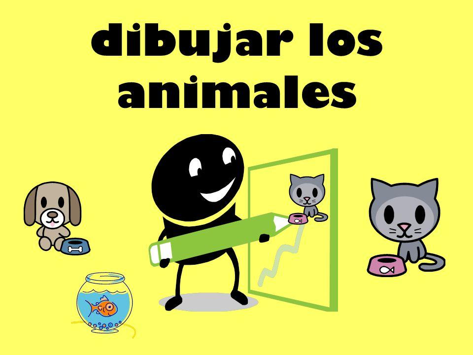 dibujar los animales