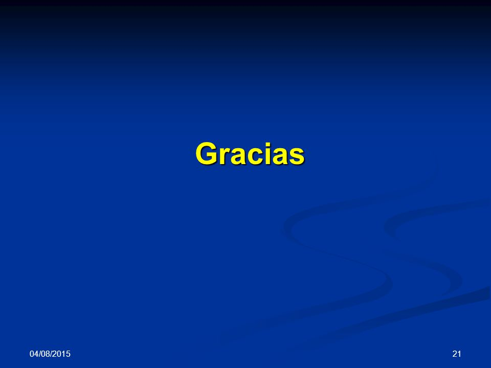 04/08/2015 21 Gracias