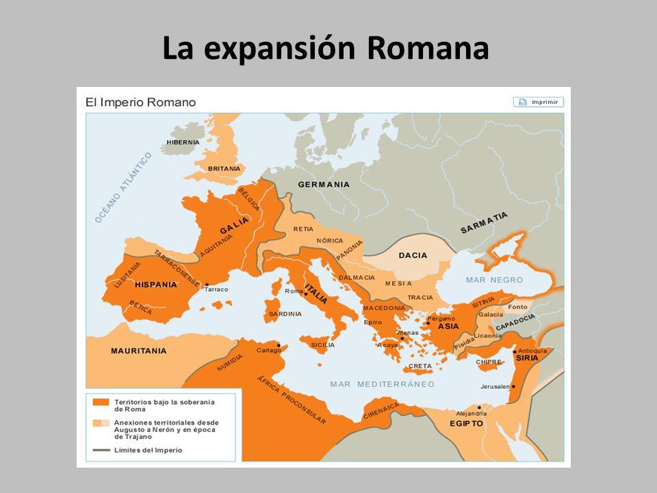 La expansión Romana
