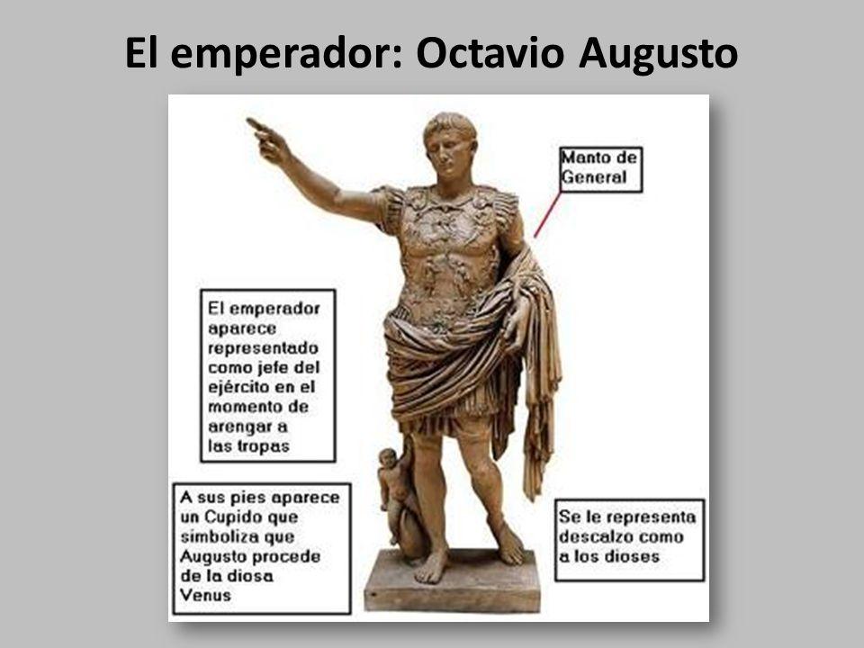 El emperador: Octavio Augusto