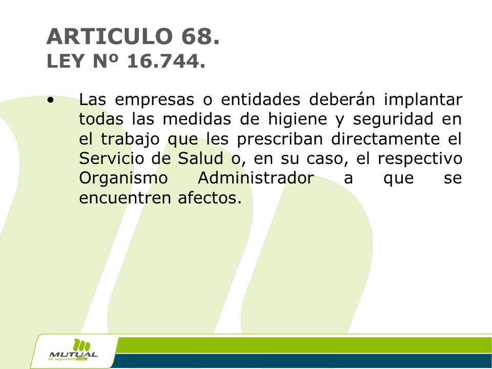 ley 16 744: