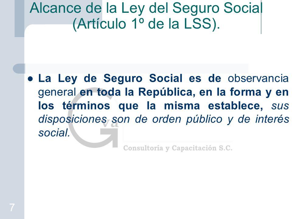 ley seguro social diapositiva: