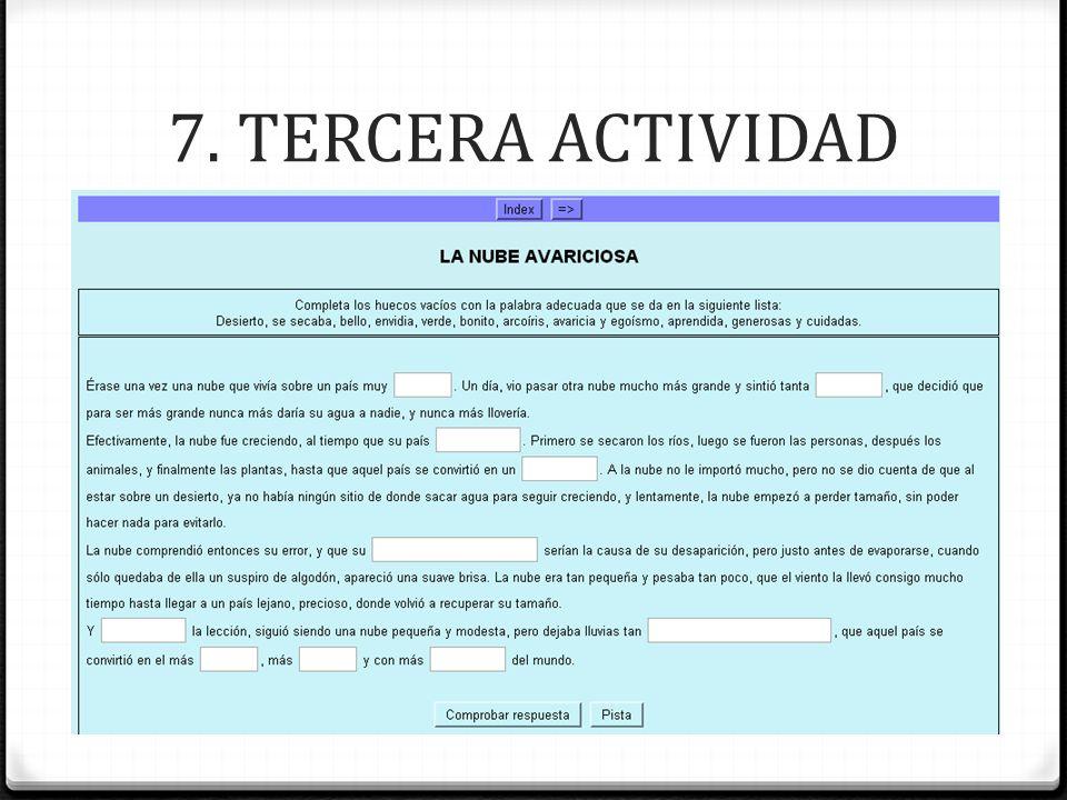 7. TERCERA ACTIVIDAD