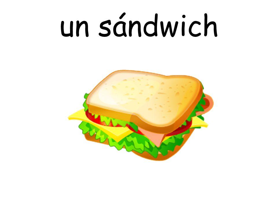 un sándwich