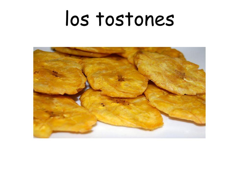 los tostones