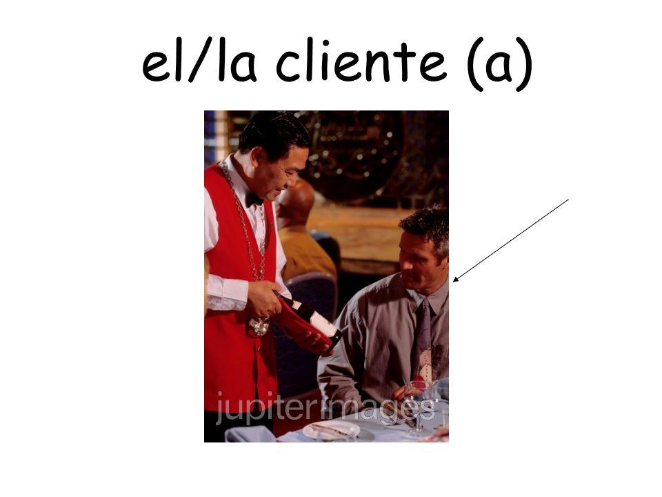 el/la cliente (a)