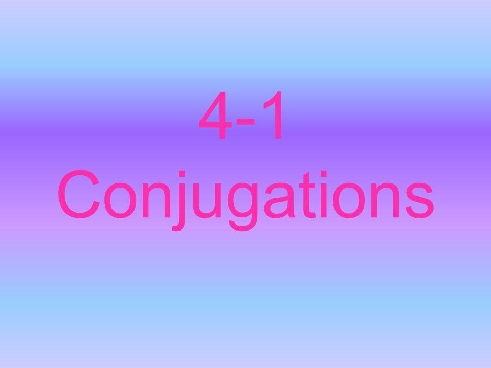 4-1 Conjugations