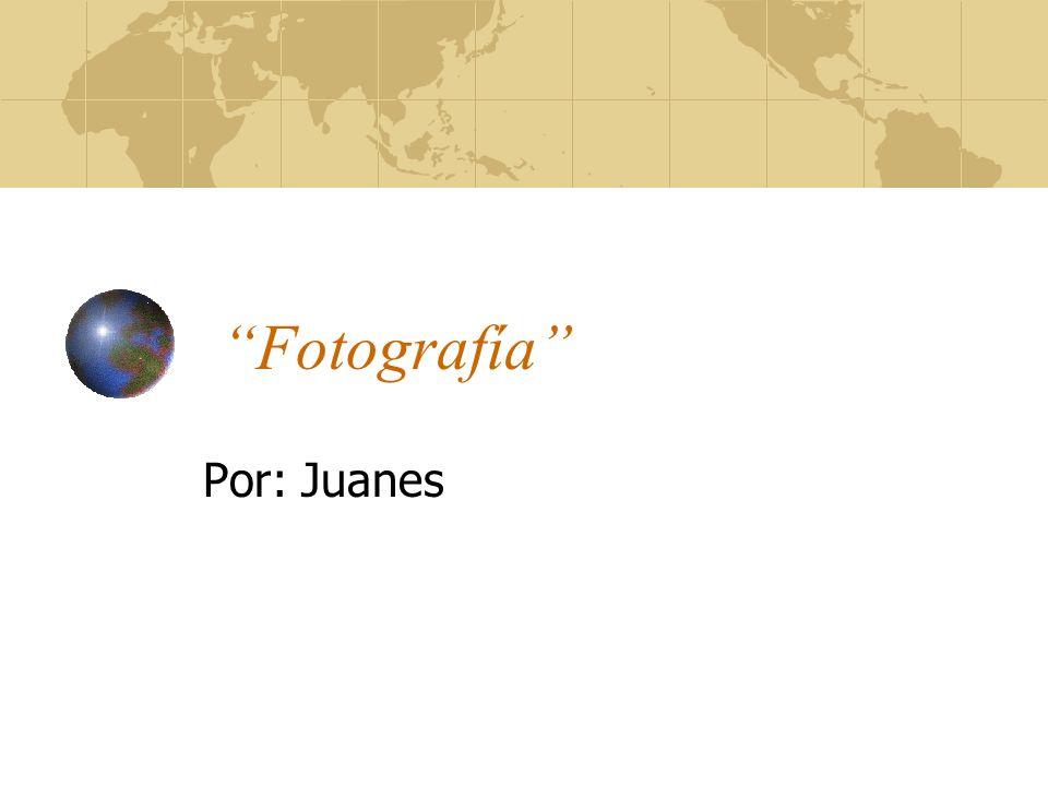 """""""Fotografía"""" Por: Juanes"""