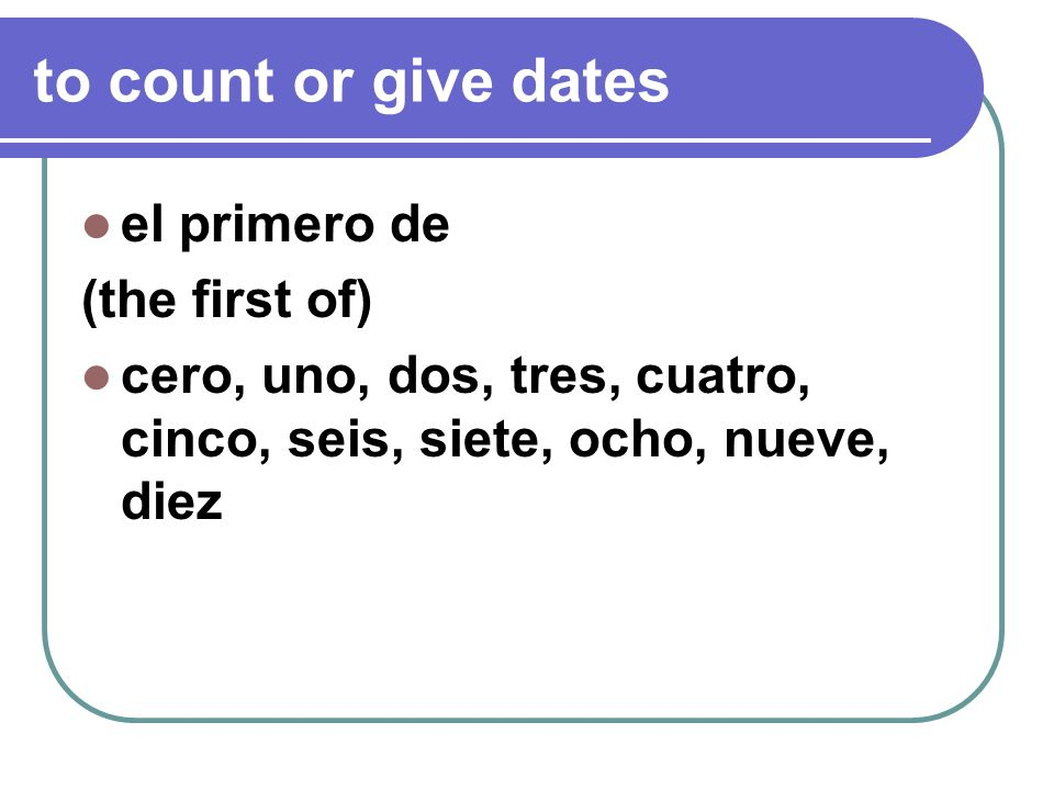 21 in spanish veinte y uno or veintiuno de agosto