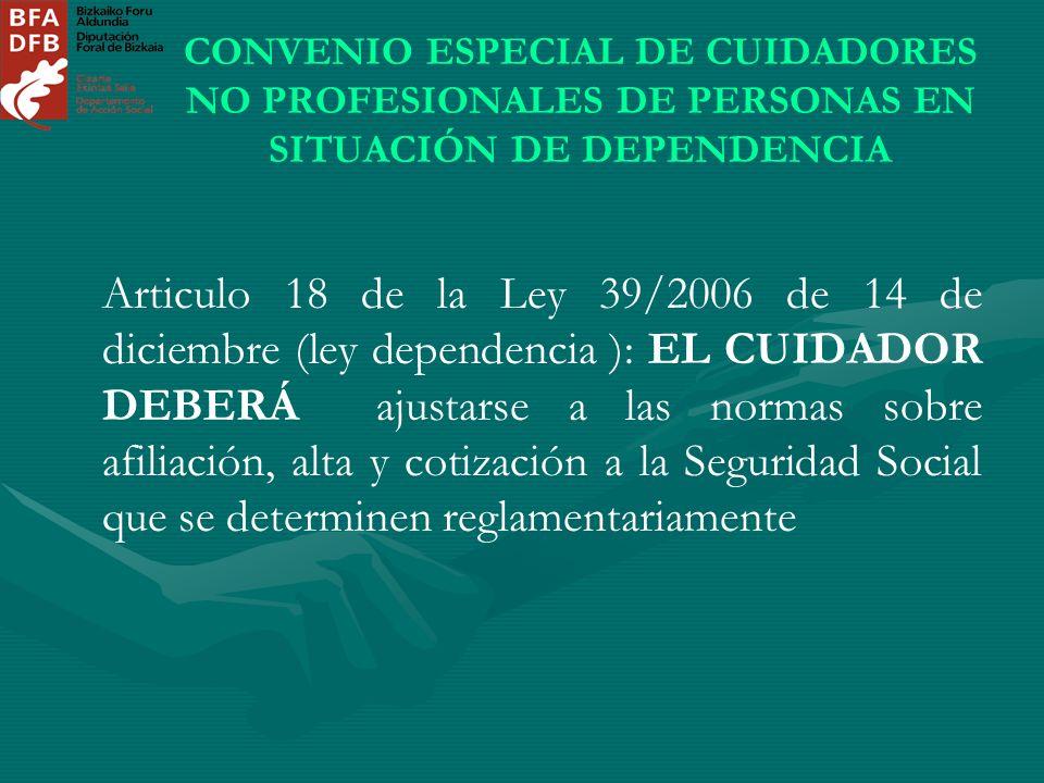ley 27 2006 18 de: