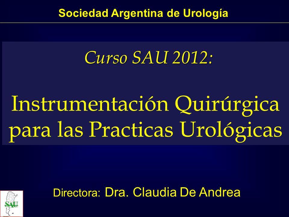Instrumentación Quirúrgica para las Practicas Urológicas Varicocelectomía Sociedad Argentina de Urología
