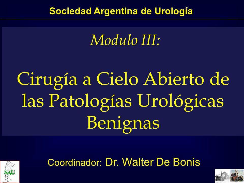 Sociedad Argentina de Urología Postectomía.Varicocelectomía.