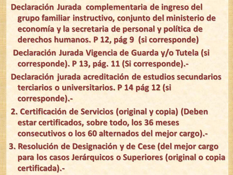 JUBILACION POR INVALIDEZ DOCUMENTACION NECESARIA Y OBLIGATORIA Formulario: E-136 : P1.- Datos del Afiliado, P2.- Datos del Apoderado, P3.- Familiares con posible derecho a pensión, P 4.- Donde percibirá el haber y si percibe otro beneficio.- P1.- Datos del Afiliado, P2.- Datos del Apoderado, P3.- Familiares con posible derecho a pensión, P 4.- Donde percibirá el haber y si percibe otro beneficio.- Declaración Jurada Anticipo Jubilatorio.- P 8, pág 6.- Declaración Jurada Servicios con Aportes en Otras Cajas.- P 10, pág.