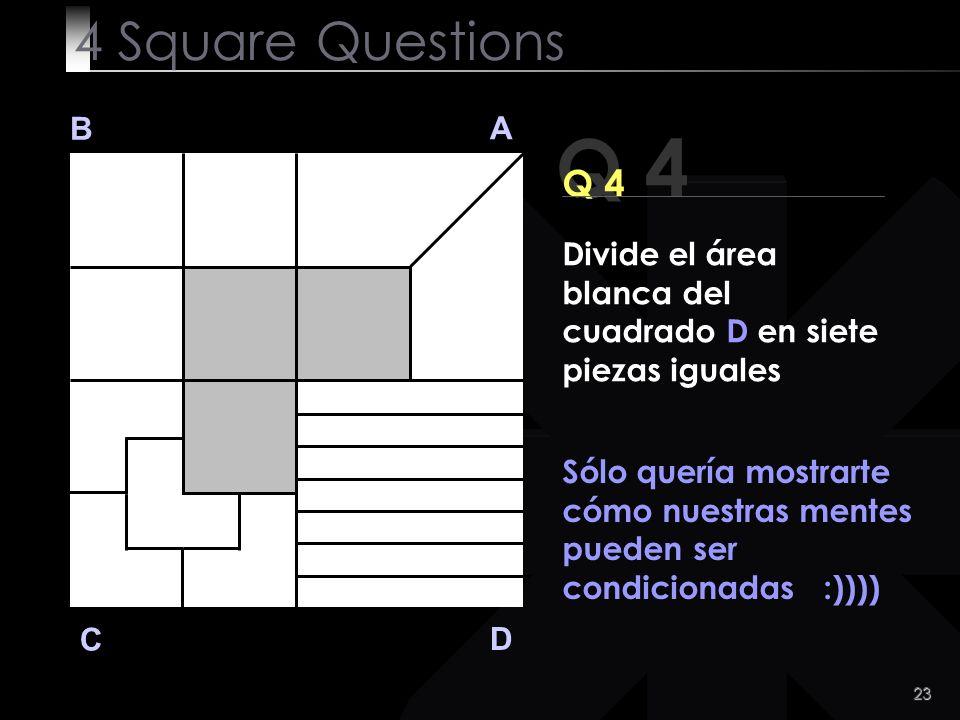 24 4 Square Questions Venga!,Que tengas un buen día! O:V:N:M: Peculiar Workshop