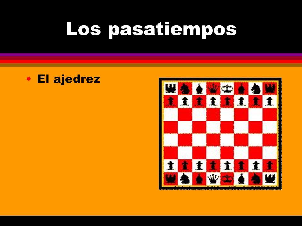 Los pasatiempos El ajedrez