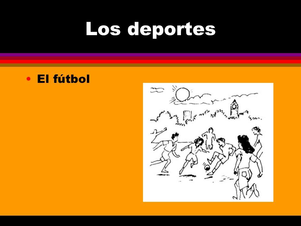 Los deportes El fútbol