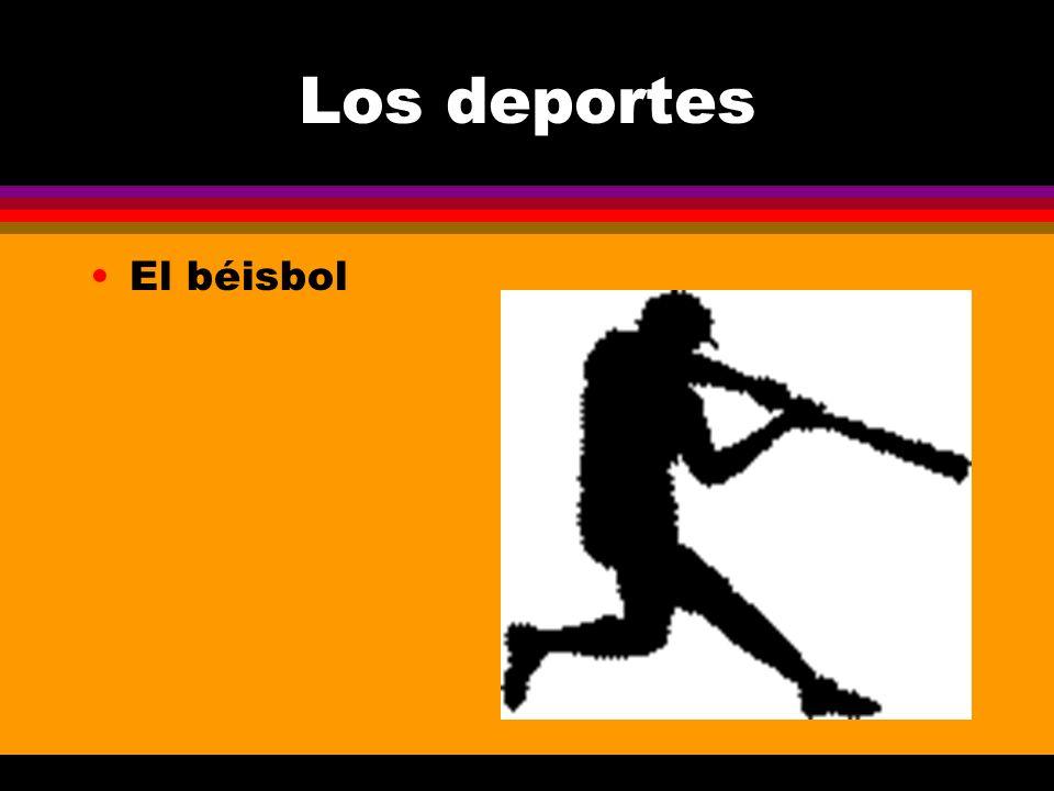 Los deportes El béisbol
