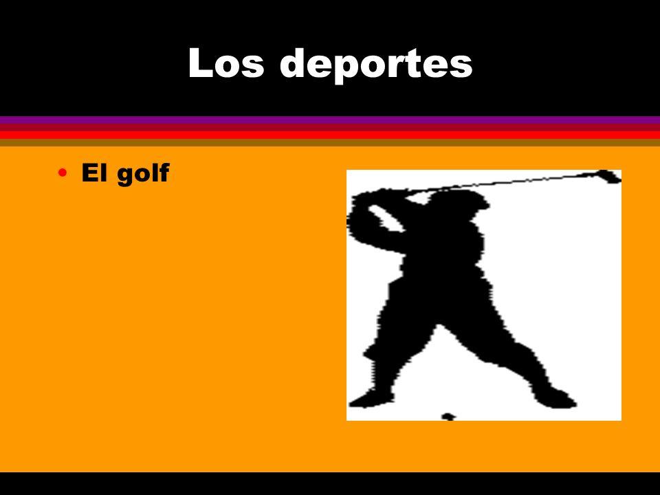 Los deportes El golf