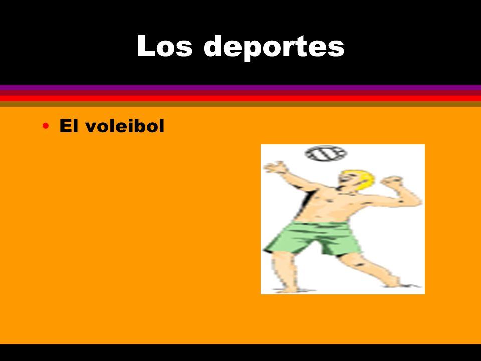 Los deportes El voleibol