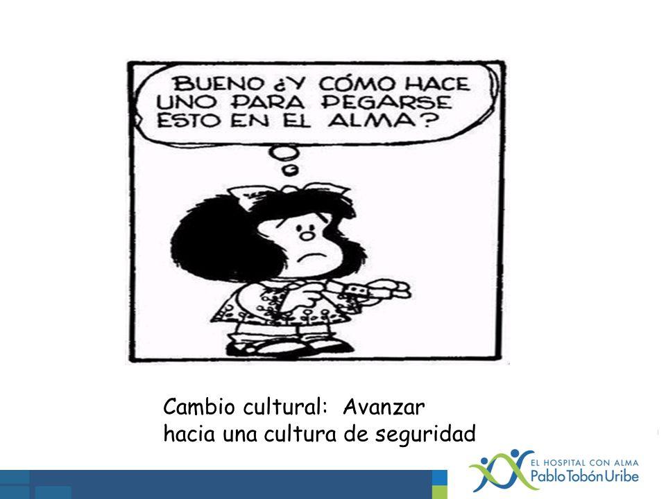 Cambio cultural: Avanzar hacia una cultura de seguridad