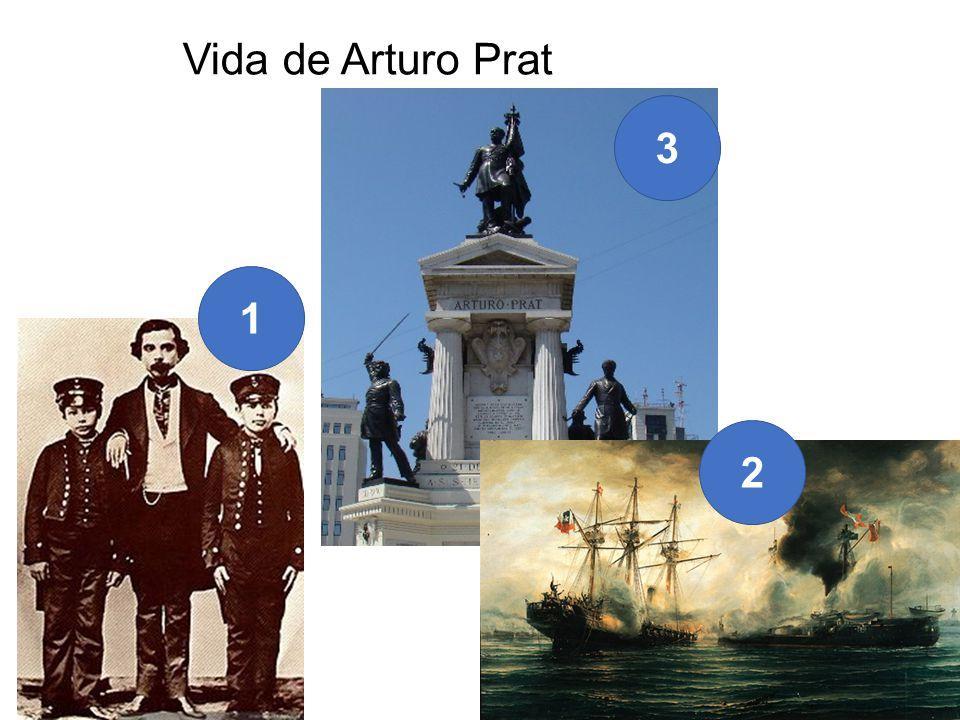 Vida de Arturo Prat 1 2 3