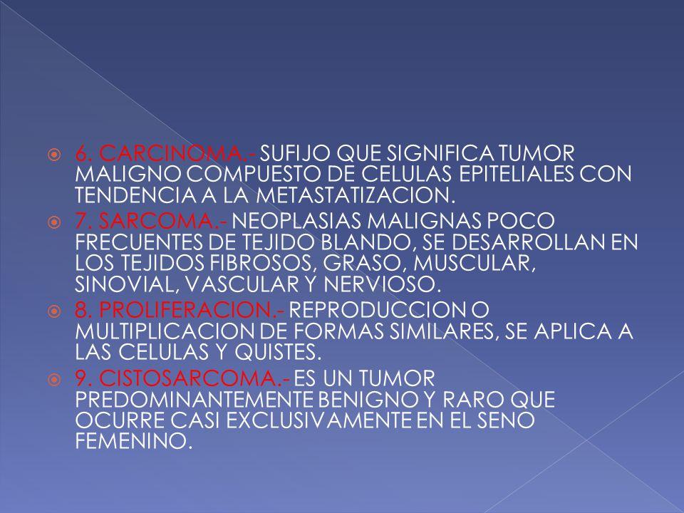 1. RESECCION.- QUITAR UNA PORCION SIGNIFICATIVA DE UN ORGANO O ESTRUCTURA  2.