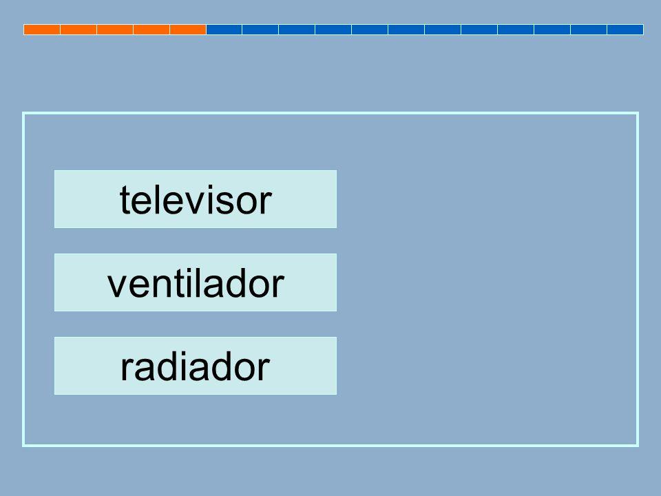 ventilador televisor radiador
