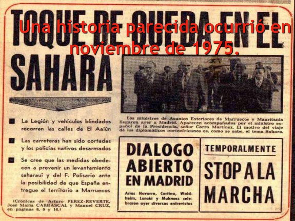 El Sáhara Occidental era un protectorado español