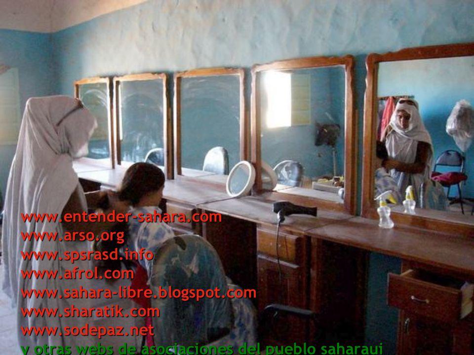www.entender-sahara.com www.arso.org www.spsrasd.info www.afrol.com www.sahara-libre.blogspot.com www.sharatik.com www.sodepaz.net y otras webs de asociaciones del pueblo saharaui