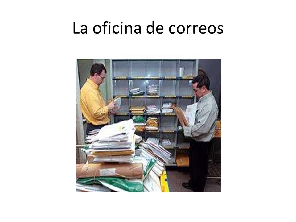 La oficina de correos