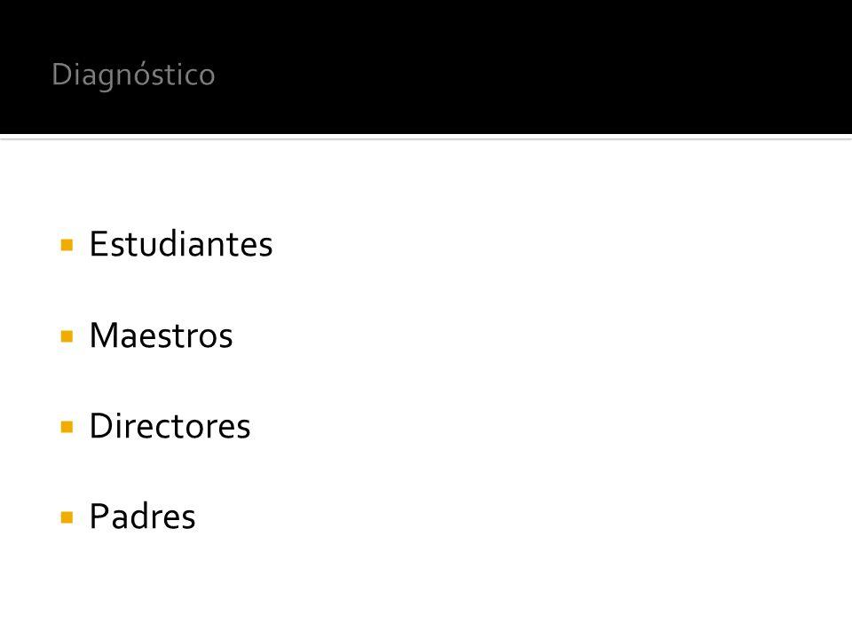 Estudiantes Maestros Directores Padres