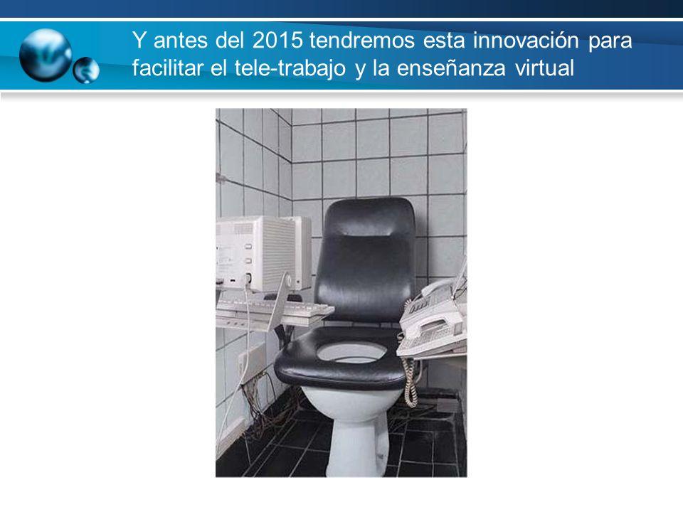 Y antes del 2015 tendremos esta innovación para facilitar el tele-trabajo y la enseñanza virtual