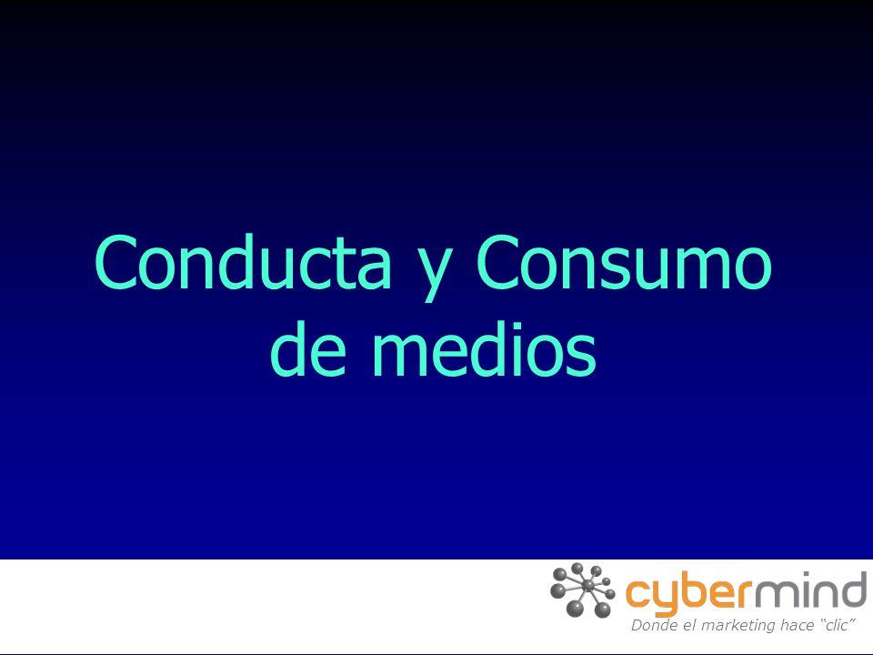 Conducta y Consumo de medios E-solutions for the new economy Donde el marketing hace clic