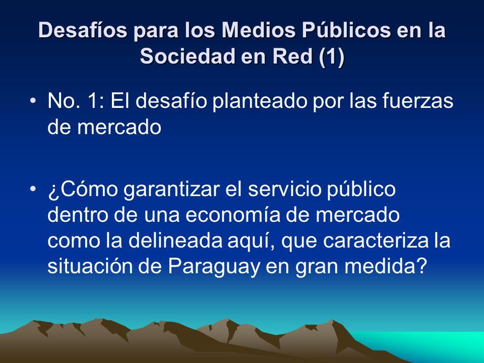 Desafíos para los Medios Públicos en la Sociedad en Red (1) No.