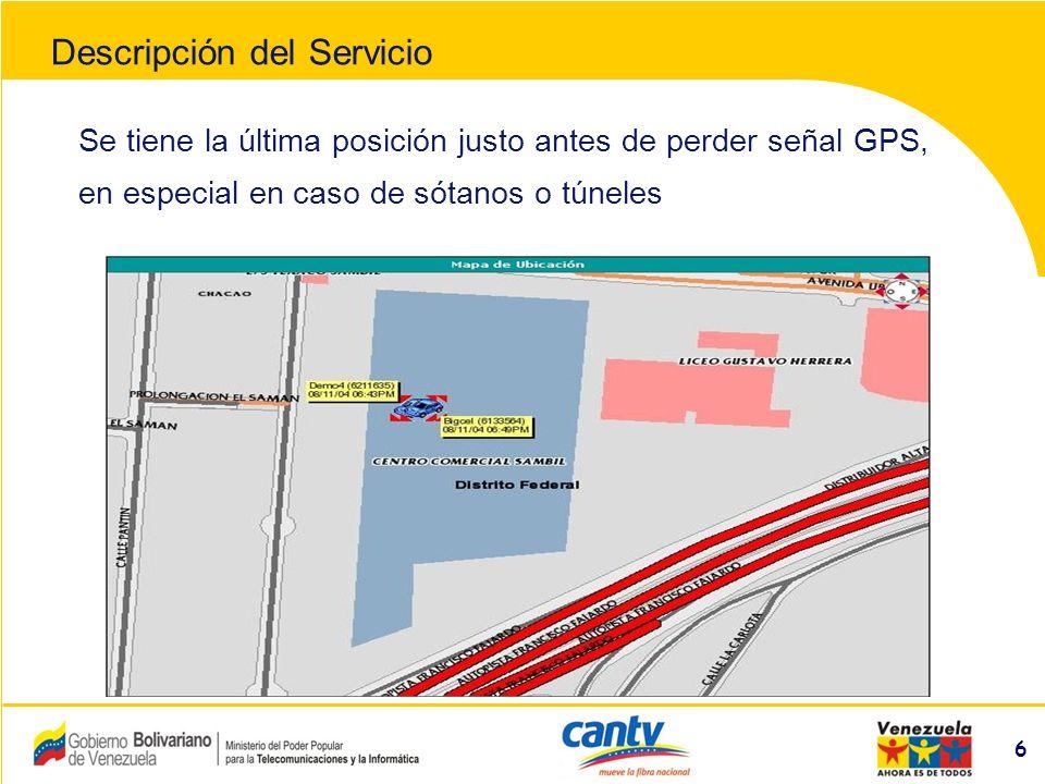 Compañía Anónima Nacional Teléfonos de Venezuela (NYSE:VNT) 7 Equipo: Utofos EspecificacionesDescripción Red CDMACDMA 1X ( 800 Mhz) GPS12 Canales, soporta DGPS EnergíaDC +10 Volts hasta +26 Volts Batería RespaldoNo incluida en el equipo.