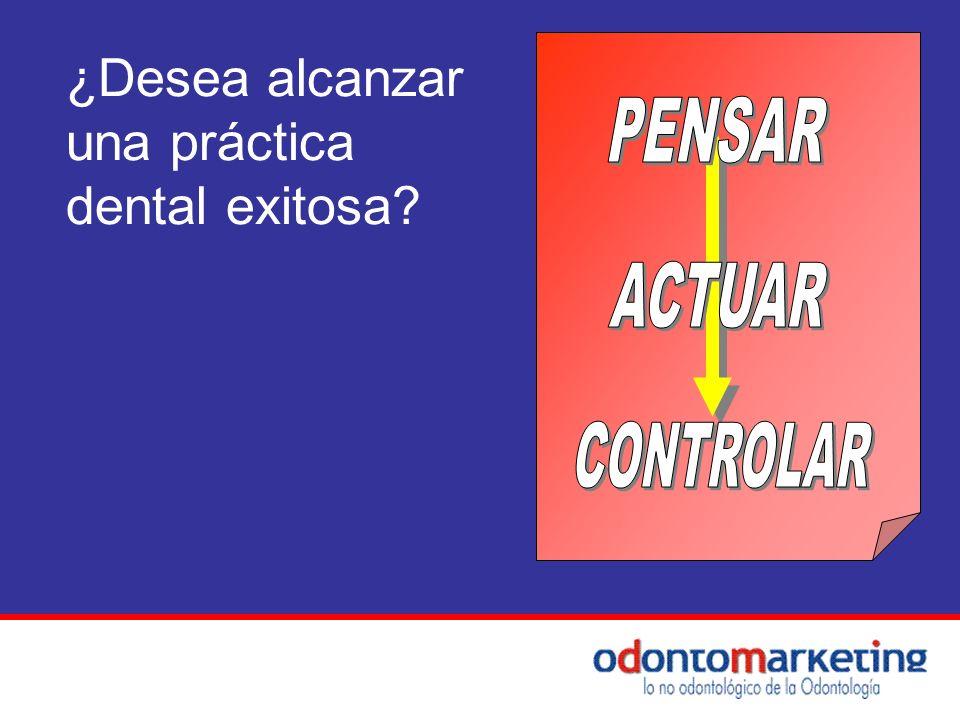 ¿Desea alcanzar una práctica dental exitosa?