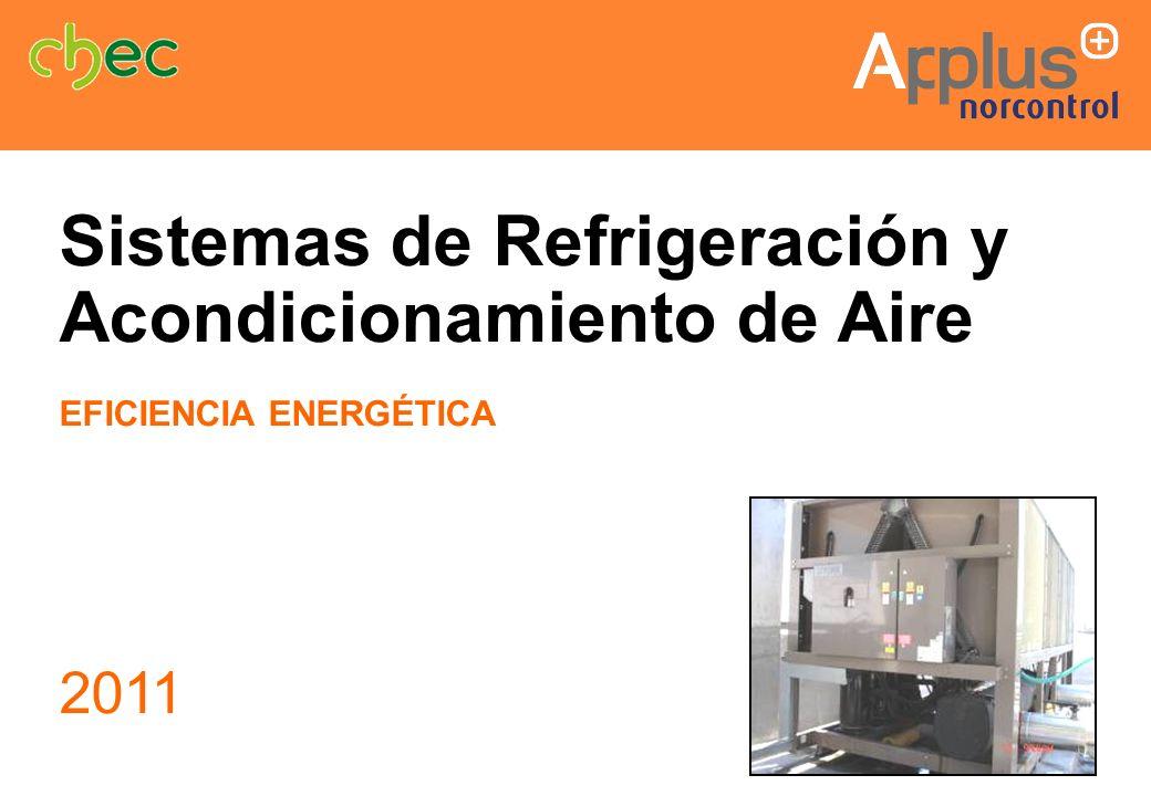 Sistemas de Refrigeración y Acondicionamiento de Aire EFICIENCIA ENERGÉTICA 2011