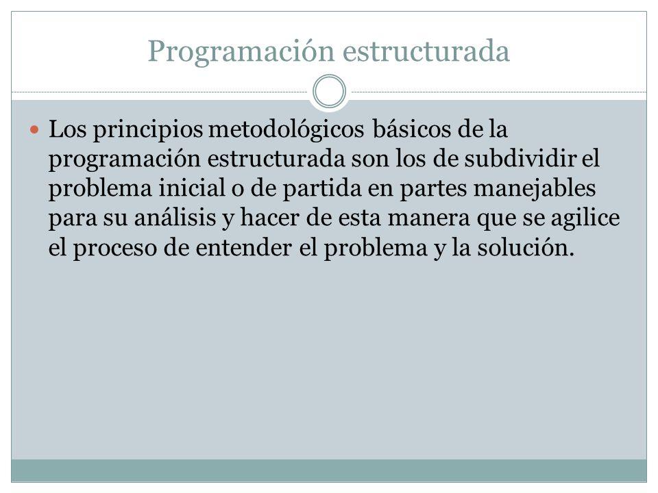 Básicamente, estas subdivisiones deseadas( llamadas módulos) deben satisfacer los siguientes requisitos: 1.