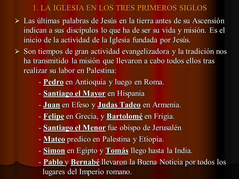 3.LA FORMULACION DOGMATICA DE LA FE CRISTIANA.