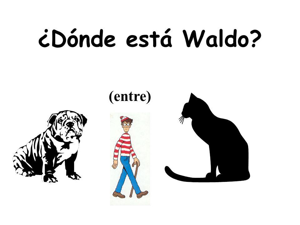 ¿Dónde está Waldo? cerca de o lejos del policía