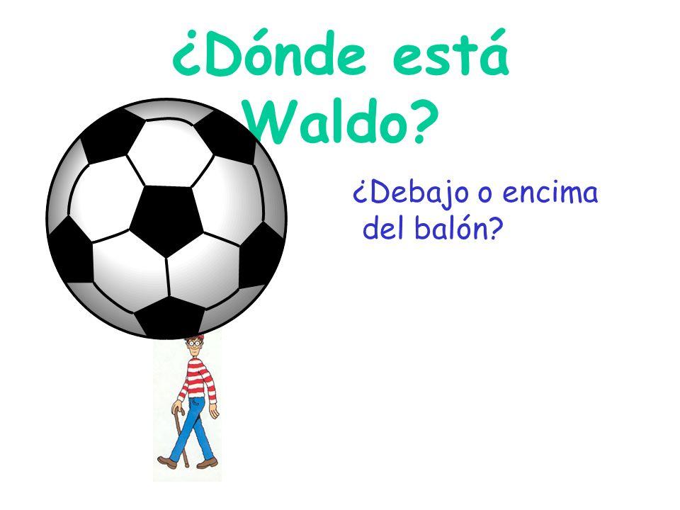 ¿Dónde está Waldo? ¿cerca de o lejos de la escuela