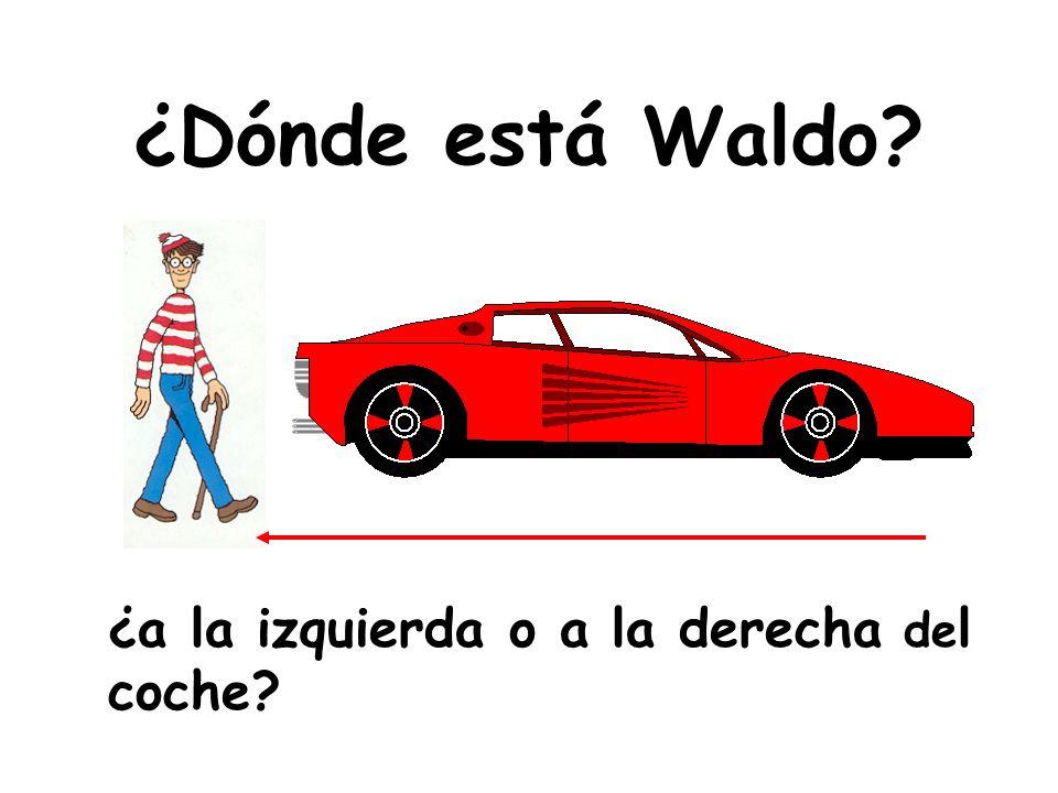 ¿Dónde está Waldo? ¿encima o debajo del autobús?