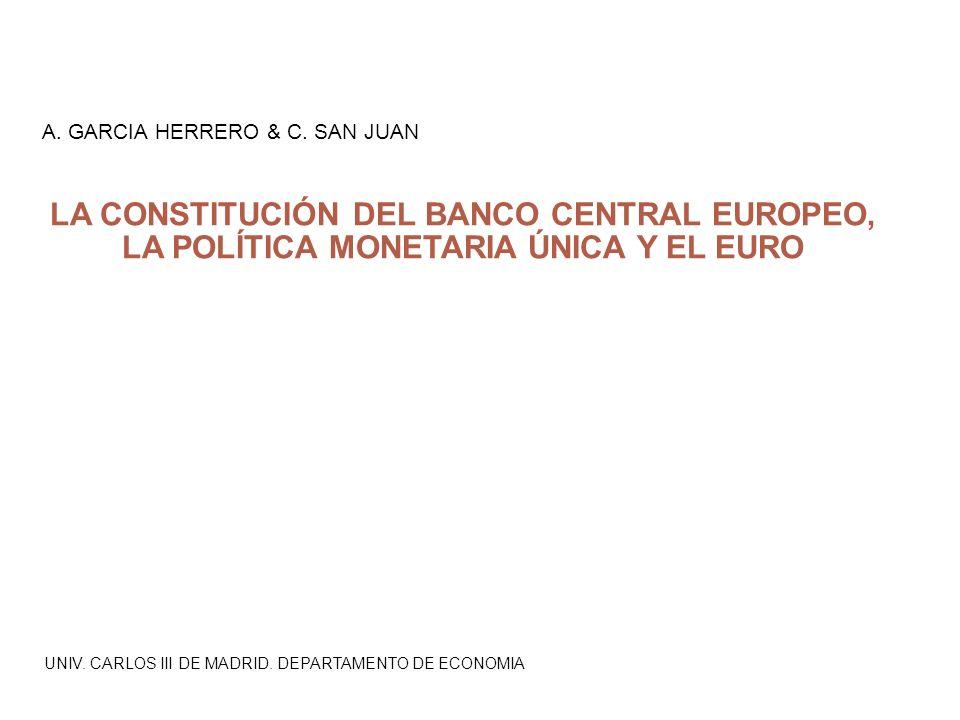 UNIV. CARLOS III DE MADRID. DEPARTAMENTO DE ECONOMIA A.