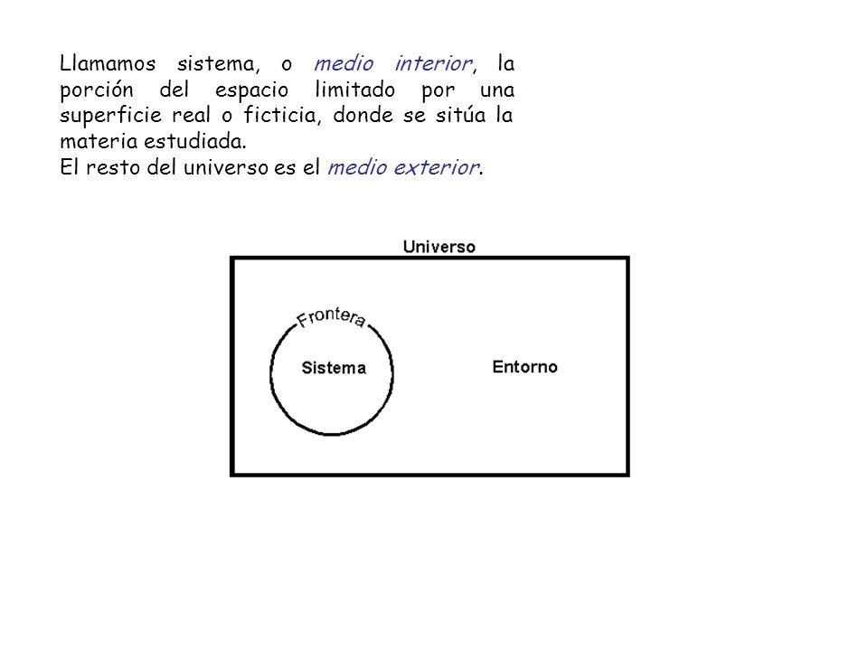 Si la frontera permite la interacción entre el sistema y su entorno, tal interacción se realiza a través de los canales existentes en la frontera.