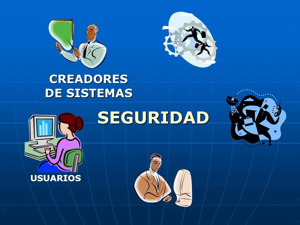 USUARIOS CREADORES DE SISTEMAS SEGURIDAD