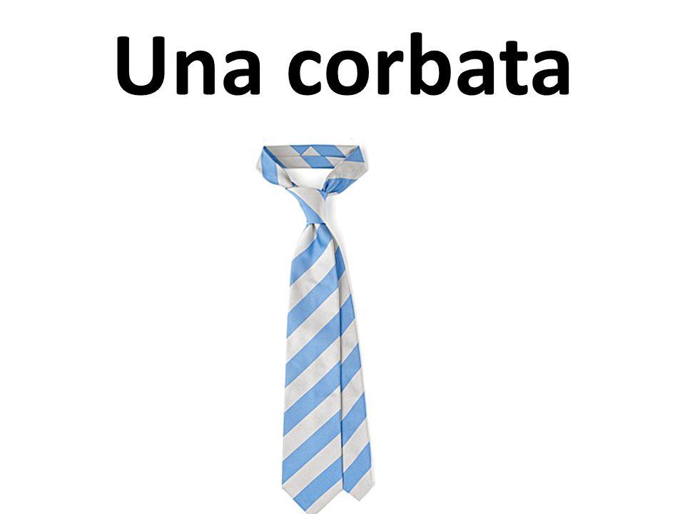 Una corbata