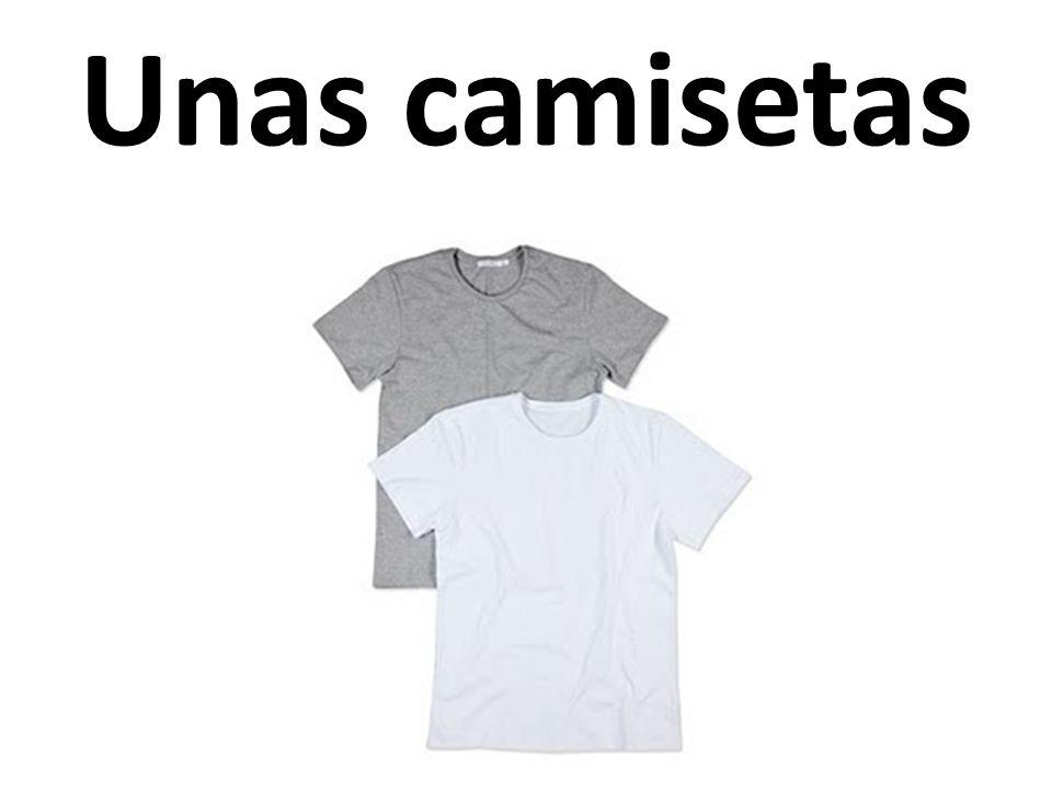 Unas camisetas