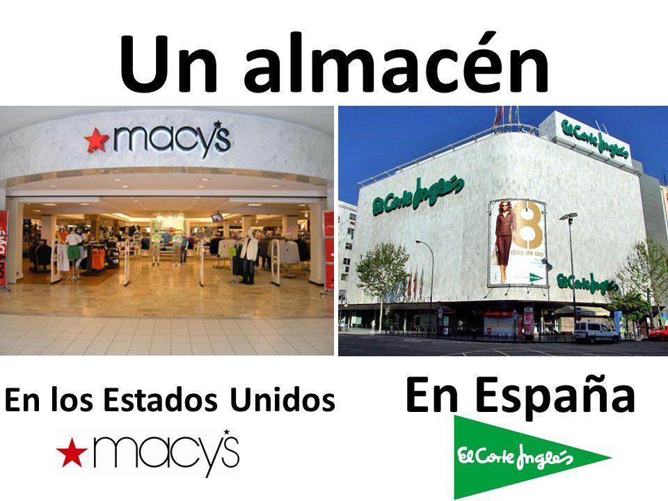Un almacén En los Estados Unidos En España