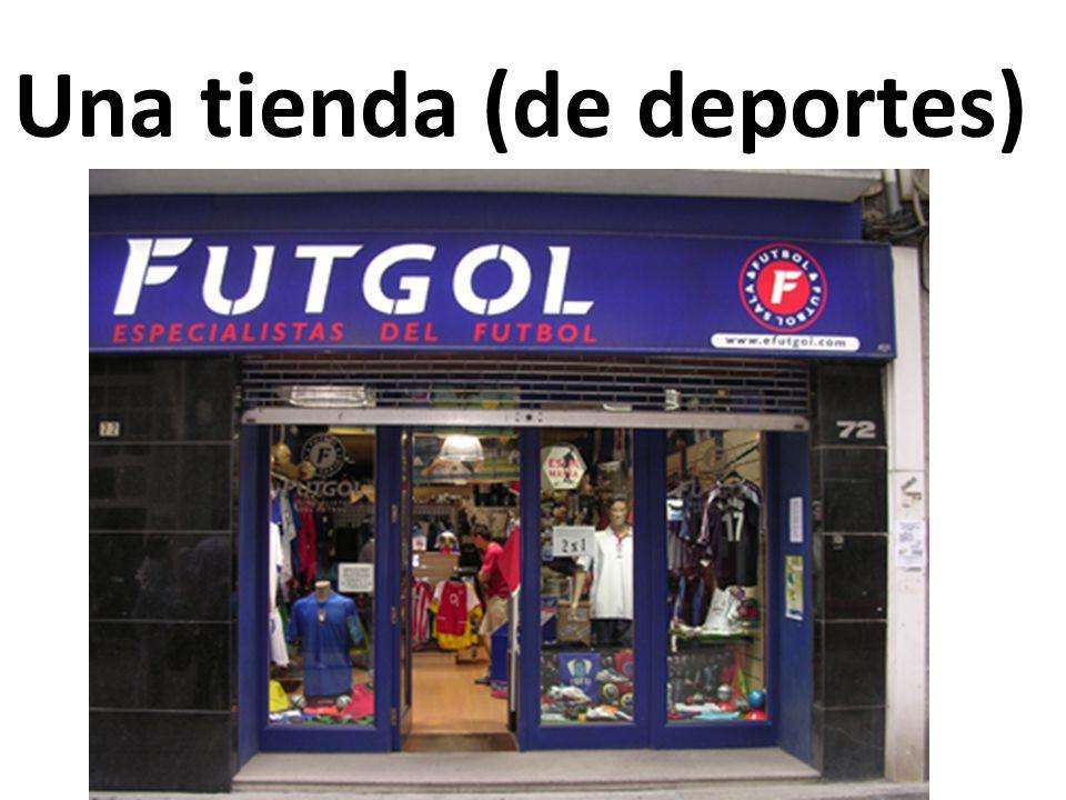 Una tienda (de deportes)