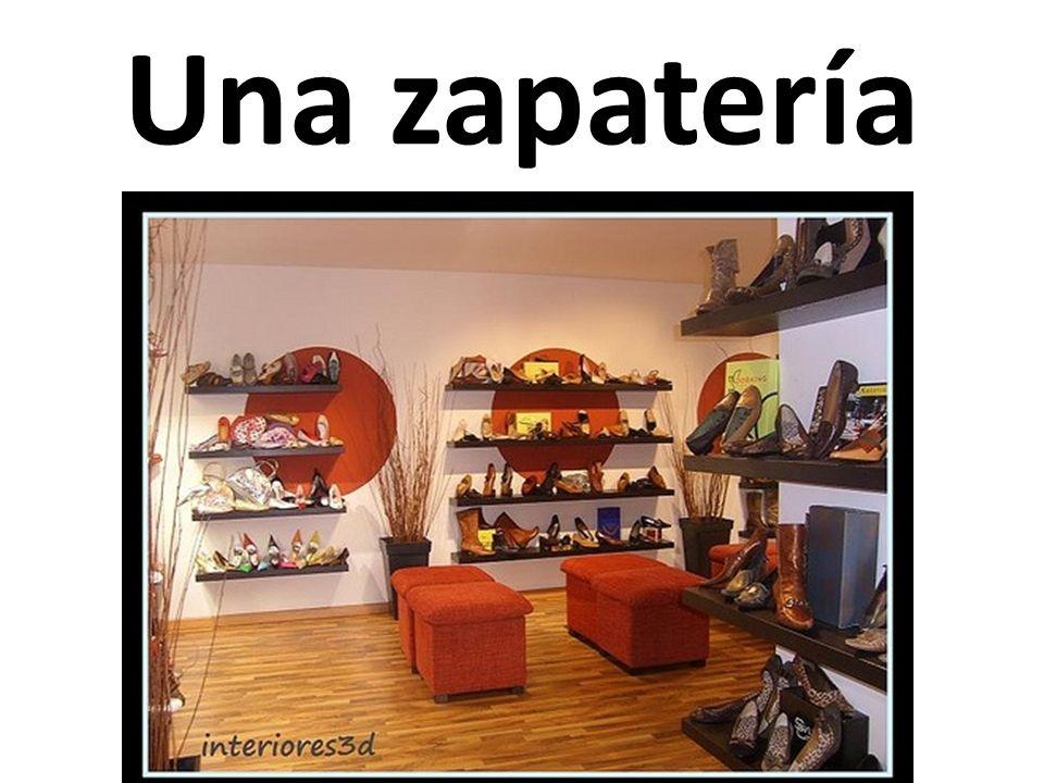 Una zapatería